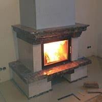 Austroflamm 65-51 в мраморной облицовке