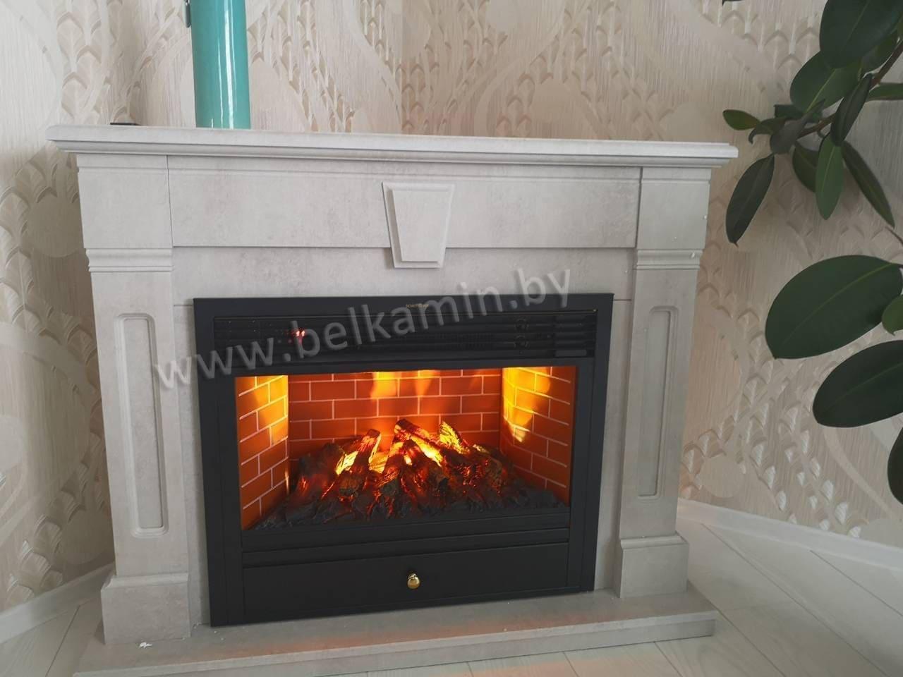 Каминокомплект Kellie 26 WT c Novara 26 3D