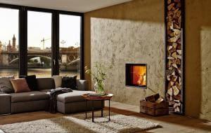 Brunner KK 57/55 с прямым стеклом,вертикальным открытием дверец