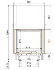 Brunner KK 57/67 панорама c вертикальным открытием дверец