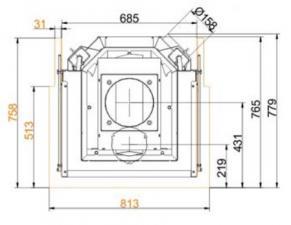 Brunner 57/40/60/40 Panorama-Kamine