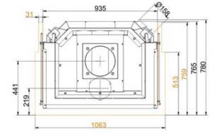 Brunner 57/40/85/40 Panorama-Kamine
