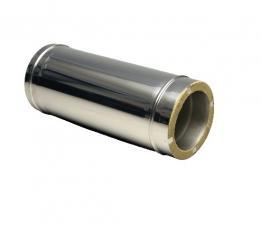 труба двустенный L-500 1мм 430нерж/нерж