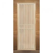Дверь для бани деревянная глухая 1900х700мм