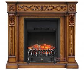 Neapol [Неаполь] дуб антик с очагами Fobos FX / Majestic FX - электрокамин Royal Flame