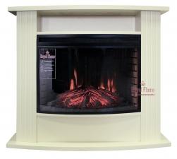 Madison [Мэдисон] алебастр с очагом Dioramic 25 FX - камин Royal Flame