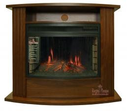 Madison [Мэдисон] темный орех с очагом Dioramic 25 FX - комплект Royal Flame