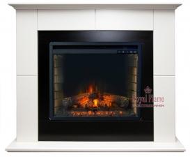Suite [Сьют] алебастр с очагом Vision 23 EF LED FX - комплект Royal Flame