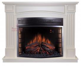 Boston [Бостон] алебастр с очагом Dioramic 28 FX - электрокамин Royal Flame