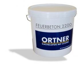 Огнеупорный раствор FEUERBETON 2200