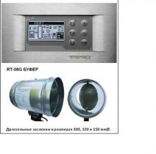 RT-08G микропроцессорный регулятор с графическим дисплеем+ буфер